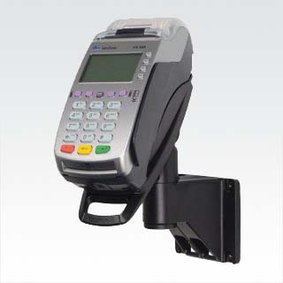 Tailwind SafeBase™ Contour Verifone VX 520 (40MM Dial Up/IP) Lockable Complete Wallmounting Solution