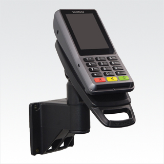 Tailwind SafeBase™ Contour Verifone P400 Lockable Complete Wallmount Solution